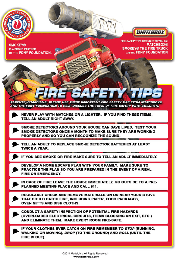Fire prevention week resourceful mommy for Fire prevention tips for home