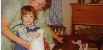 Gram Elsie with Amy June 1979