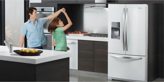 whirlpool twitter party and refrigerator giveaway. Black Bedroom Furniture Sets. Home Design Ideas