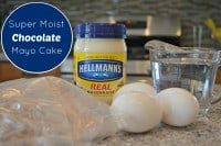 Hellmann's Super Moist Chocolate Mayo Cake