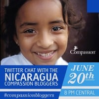 Compassion International Nicaragua Twitter Party