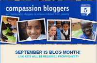 Compassion International Blog Month Twitter Party