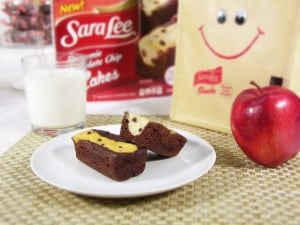 Sara Lee Brownie Chocolate Chip Cakes-0241 med