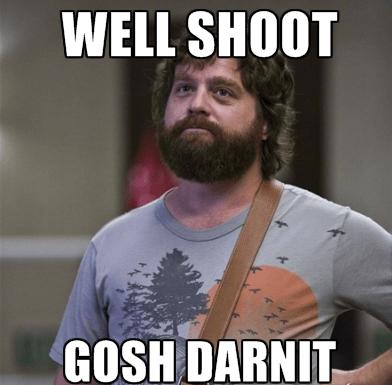 goshdarnit