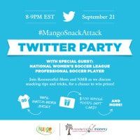 Mango Snack Attack Twitter Party