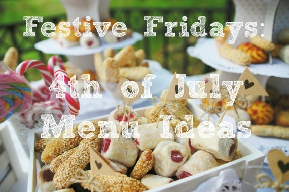 Festive Friday 4th menu