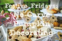 Festive Fridays: No-Carve Pumpkin Decorating Ideas
