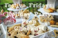 Festive Fridays: Holiday Party Prep Checklist Printable