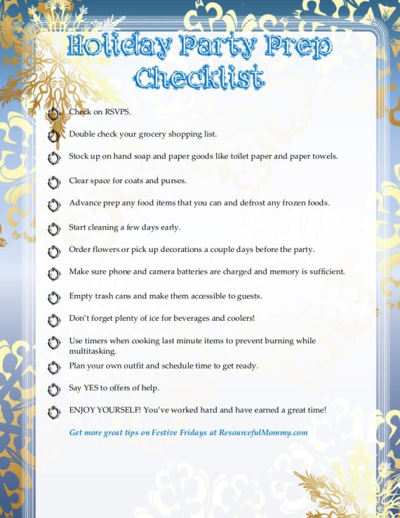 holiday-party-checklist