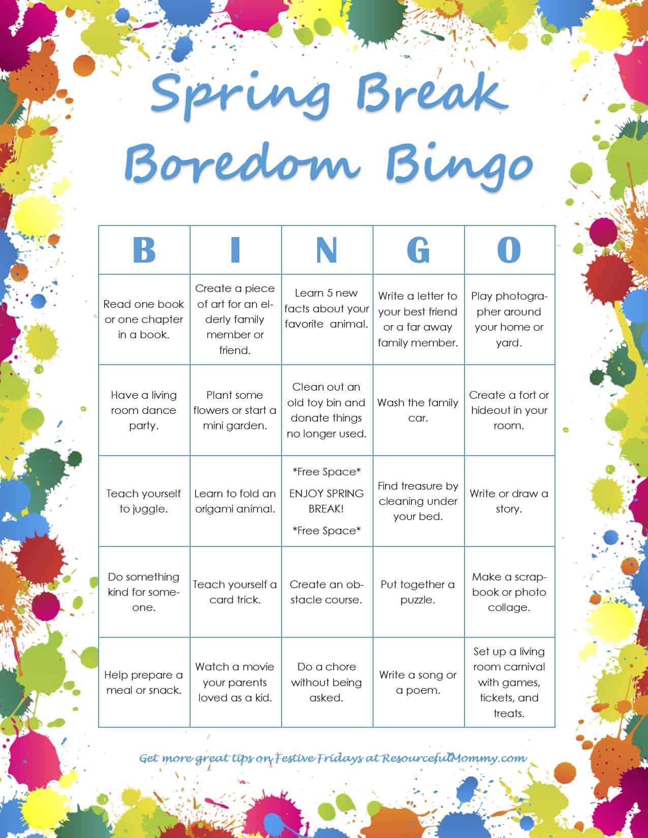 spring-break-bingo