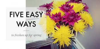 five ways freshen up