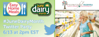 Easy Home Meals #JuneDairyMonth Twitter Party