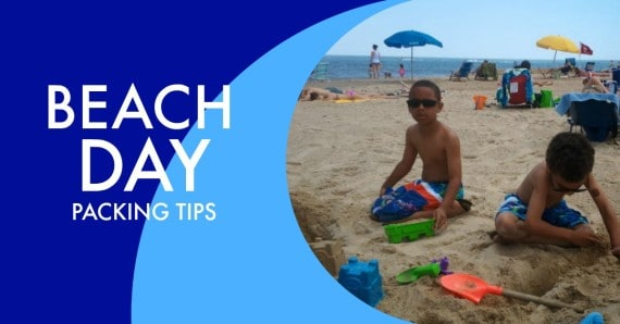beach day packing tips header