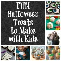 Fun Halloween Treats To Make With Kids