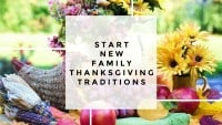 Start New Family Thanksgiving Traditions