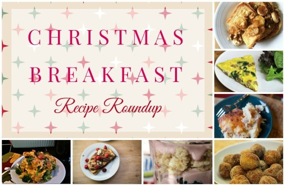 Christmas breakfast Collage