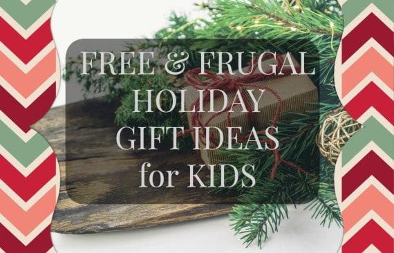 freefrugal gift ideas