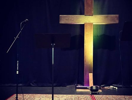 I helped launch Celebrate Recovery at my church and led worship each week.